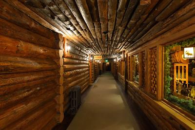 Old Faithful Inn hallway