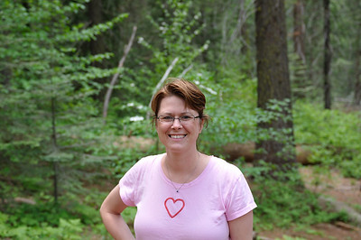 Lisa in Tuolomne Grove