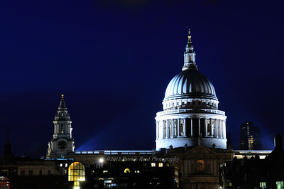 St. Paul's Cathedral from the Millenium Bridge